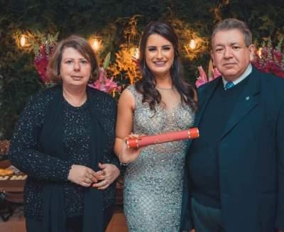 Odete Jochims, Heloisa e Rui Flores e Silva