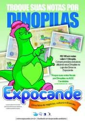 Expocande lança campanha para troca de notas fiscais por Dinopilas