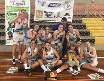 Blumenau vence Sul Brasileiro de basquete disputado em Candelária
