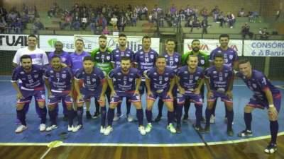 A equipe do Atlético que venceu em Novo Hamburgo