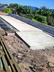 Primeiro lado de ponte na RSC-287 é concluído