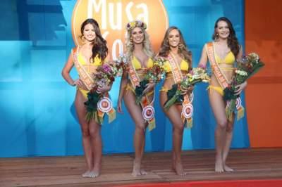 Atual corte: Luciana Silva, de Erechim, Marina Longui, de Caxias do Sul, Emanuela Schuster, de Santa Cruz do Sul, e Patrícia Padilha, de Alpestre