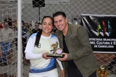 Thaline, goleadora feminino