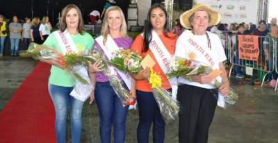 Tânia, Fabrícia, Roseli e Iria: a nova corte da mulher rural