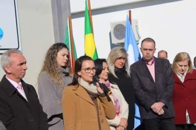 Suzan Gewehr Trindade agradece em nome da família