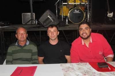 Os jurados Valmir, Gilmar e Marcelo
