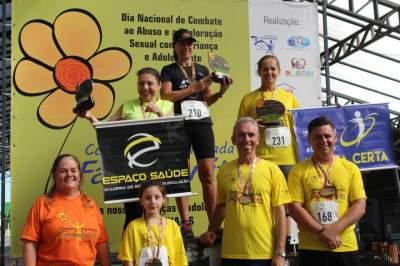 Premiação 50/54 anos feminino 8km