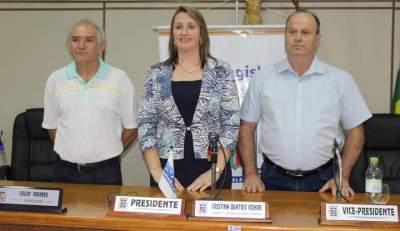 Cristina Rohde irá presidir a Câmara de Candelária em 2020