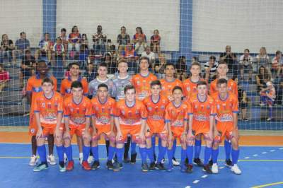 A equipe do Clube Atlético Candelariense